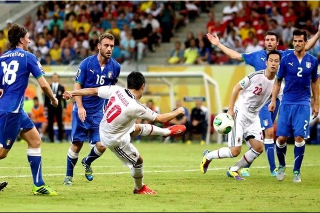 2013年 コンフェデレーションズカップ サッカー 日本代表VSイタリア代表