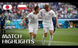 2018年 FIFAワールドカップ サッカー ロシア大会 日本代表 VS ポーランド代表