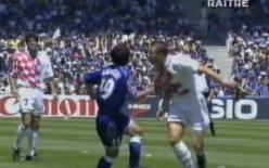 1998年 フランス FIFAワールドカップ 日本代表VSクロアチア代表