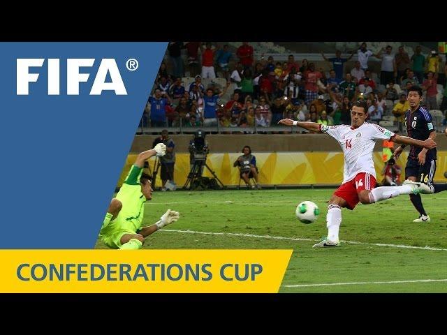 2013年 コンフェデレーションズカップ サッカー 日本代表VSメキシコ代表