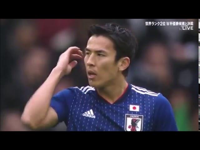 2017年 国際親善試合 日本 VS ブラジル 1対3 フランス/スタッド・ピエール・モーロワ
