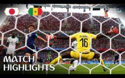 2018年 FIFAワールドカップ サッカー ロシア大会 日本代表 VS セネガル代表