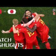 Belgium v Japan - 2018 FIFA World Cup Russia
